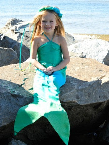 Sarah's Silk Mermaid Costume