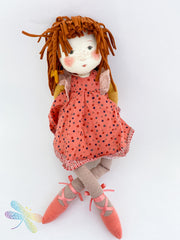 Moulin Roty Anemone Rag Doll, Dragonfly toys