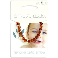 Amber Anklet/Bracelet by Nature's Child, Dragonflytoys