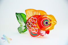 Large Gold Fish - Mooncake Festival Lanterns, Chinese, Vietnamese, Malaysian, Mid-Autumn, New Year, Dragonfly Toys