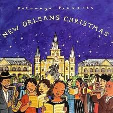 New Orleans Christmas CD, Putumayo, Dragonfly toys