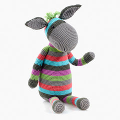Donkey Knitted Soft Toy