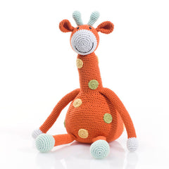Giraffe Knitted Soft Toy
