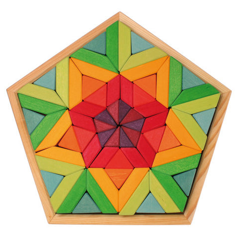 Large Pentagon Waterlily Puzzle