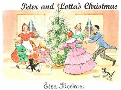 Peter and Lotta's Christmas, Elsa Beskow books