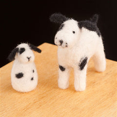 Puppies felting kit