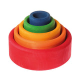 Stacking Bowls - Rainbow