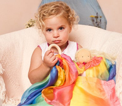 Sarah Silks Rainbow Teether