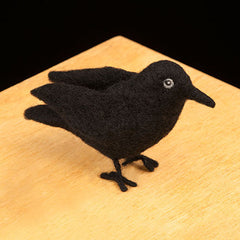 Raven felting kit