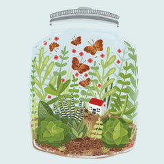 Greeting Card - Jar