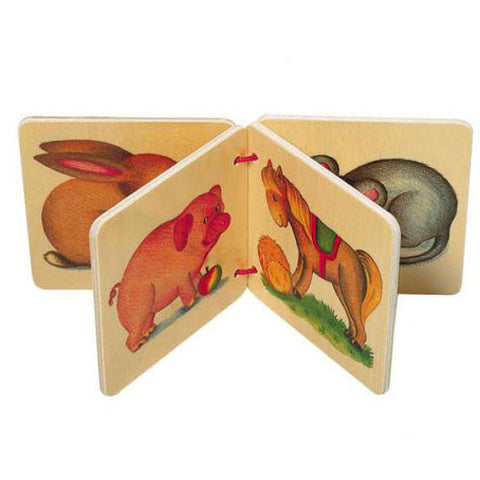 Favourite Animals Wooden Book