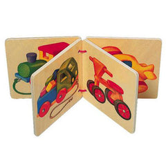 Vehicles Wooden Book