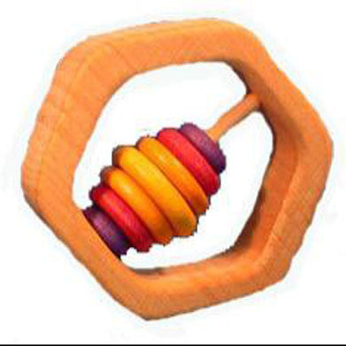 Hexagonal Baby Rattle