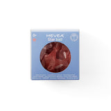 Hevea Rubber Star Ball Raspberry