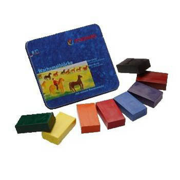 Stockmar wax block style crayons comes in tin or 8 or 16