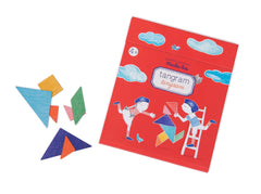 Magnetic Tangram puzzle by Moulin Roty