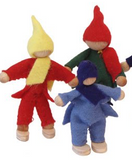 treehouse wooden dolls