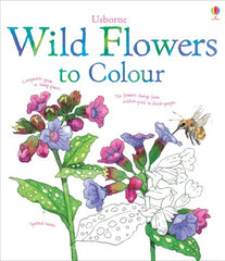 WIld Flowers Colouring Book