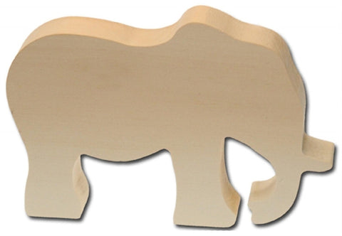 Woodwork elephant by kids at work
