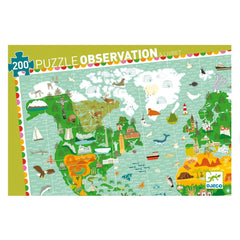 Monuments of the World (200 Pieces) Puzzle