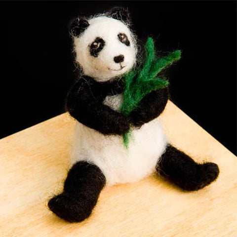 Panda felting kit