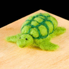 Needle Felting Kit - Turtle