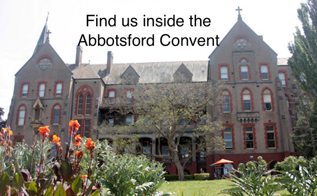 Find us inside the Abbotsford convent
