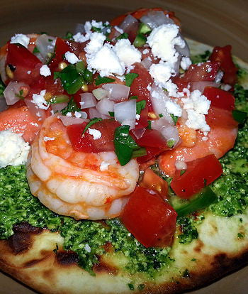 Outer Limits Jalapeño Lime Shrimp Tostadas