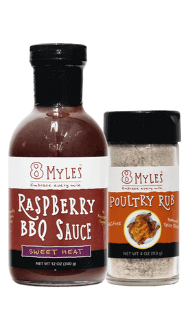Raspberry BBQ with Rub