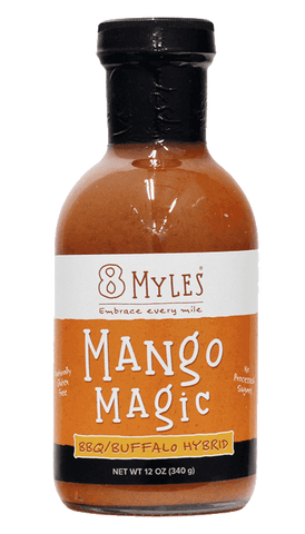 8 Myles Magic Mango BBQ/ Buffalo Sauce