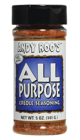 Andy Roos All Purpose Creole Seasoning 5oz - Hot Sauce Willie's