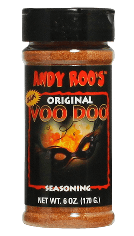 Andy Roo's Voodoo Seasoning 3.5oz - Hot Sauce Willie's