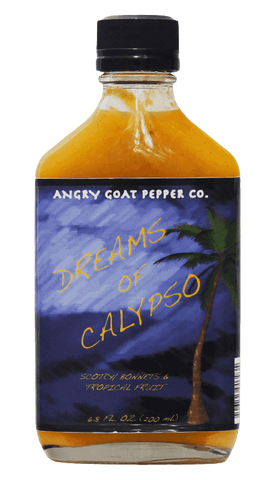 Angry Goat Pepper Co. Dreams of Calypso Hot Sauce 6.8oz