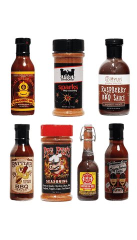 Hot Sauce Willie's - BBQ LOVER'S GIFT PACK