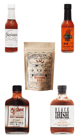 Hot Sauce Willie's - BOOZE INFUZED HOT SAUCE GIFT COLLECTION
