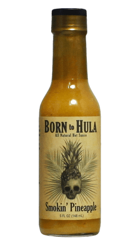 Born to Hula Smokin Pineapple Sauce 8oz - Hot Sauce Willie's