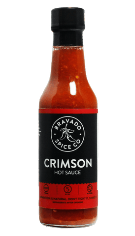 Bravado Spice Crimson Hot Sauce 5oz - Hot Sauce Willie's