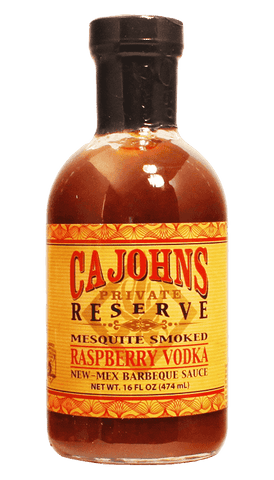 Cahohns Mesquite Smoked Rasberry Vodka BBQ Sauce 16oz - Hot Sauce Willie's