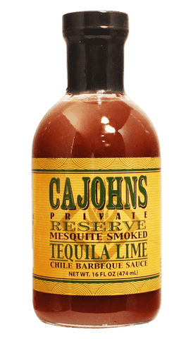 Cahohns Mesquite Smoked Tequila Lime BBQ Sauce 16oz - Hot Sauce Willie's