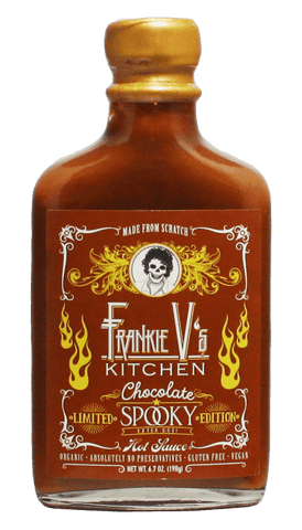 Frankie V's LIMITED EDITION! Chocolate Spooky Hot Sauce 6.7oz - Hot Sauce Willie's
