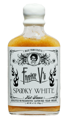 Frankie V's Spooky White Hot Sauce 6.7oz - Hot Sauce Willie's