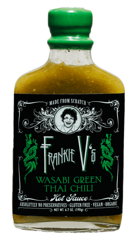 Frankie V's Kitchen Wasabi Green Thai Chili Hot Sauce 6.7oz - Hot Sauce Willie's