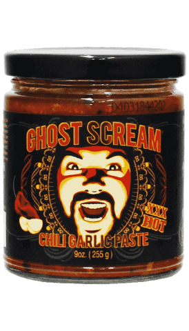 Ghost Scream - Chili Garlic Paste 9oz