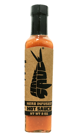Hank Sauce Herb Infused 8oz - Hot Sauce Willie's