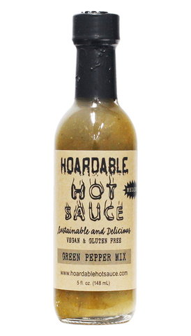 Hoardable - Green Pepper Mix Hot Sauce 5oz