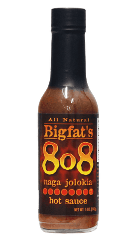 Hot Sauce Willie's - Bigfat's 808 - naga jolokia Hot Sauce 5oz