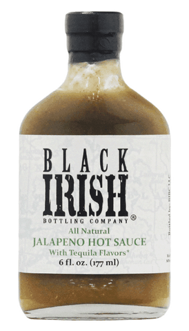 Black Irish Bottling Company - Jalapeno Hot Sauce with Tequila Flavors