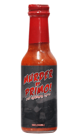 Hot Sauce Willie's - Jersey Barnfire - Murder By Primo - Hot-Marinara Hot Sauce 5oz