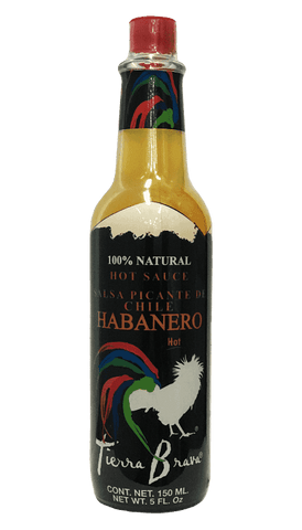 Tierra Brava Red Habanero Hot Sauce 5oz