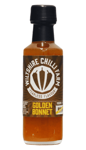 Hot Sauce Willie's -m Wiltshire Chilli Farm - Golden Bonnet Hot Sauce 100ML